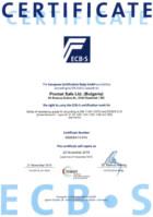 ECBS Certificate Grade IV