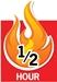 fireproof safe 1/2 hours
